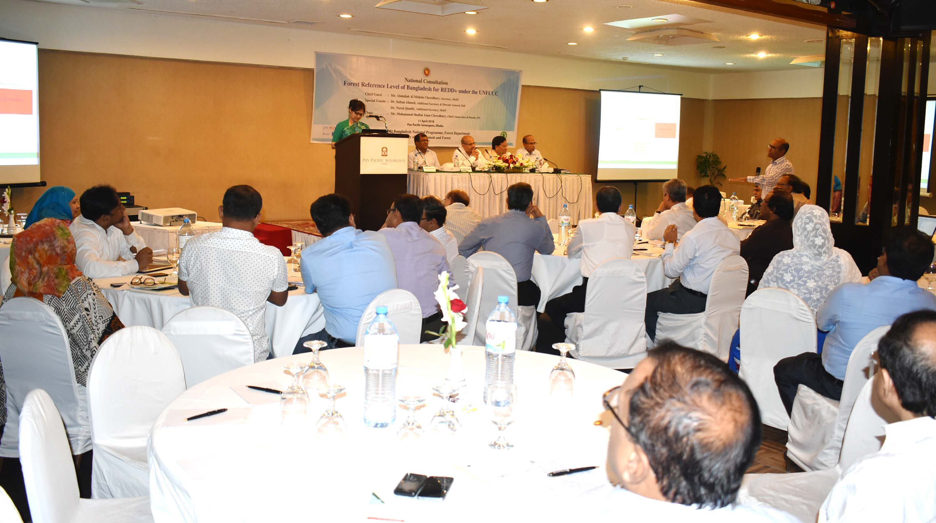 Participants of the National Consultation  on FRL of Bangladesh   for REDD under UNFCC  copy