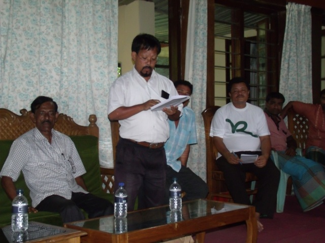 Focus group discussion on forest governance with forest-dependent comunities in Modhupur -2- Bangladesh September 2013
