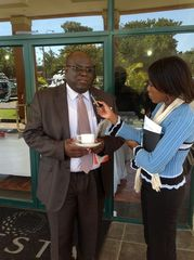 Zambia Minister of Lands Interviewd by the media - Lusaka Workshop - 25 April 2012