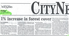 Pakistan SEPC REDD+ News Article the news_13 Jan