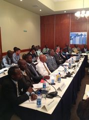 Participants at the Lusaka Workshop - 24 April 2012