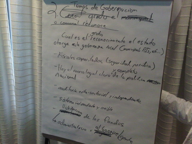 Photo - Transparency and accountability - Group 1