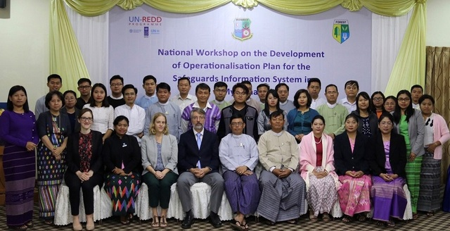 Myanmar SIS operationalisation workshop