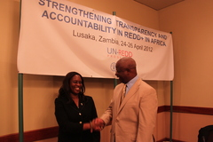 Deputy MInister and UNDP CD