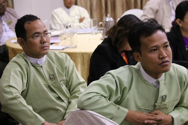 Myanmar SIS operationalisation workshop participants